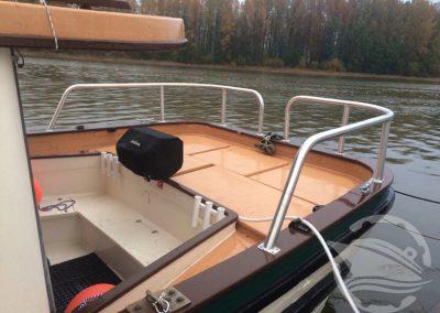 Aluminum Boat Railings-2