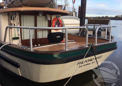 Aluminum Boat Railings-3