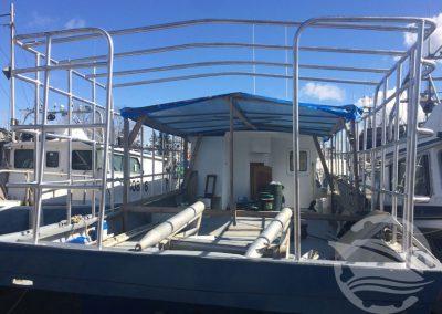 Aluminum Boat Railings-4
