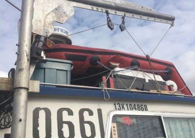 Aluminum Boat Railings-5