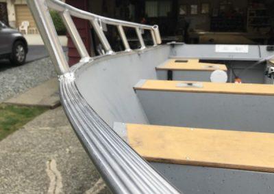 Aluminum Boat Railings-11