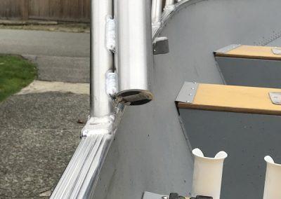 Aluminum Boat Railings-9